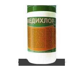 Медихлор№1000 банка 1000 табл. весом 1 кг